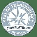 Give Online - Guidestar Platinum Seal 2019